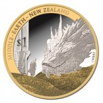SMAUG AND BILBO 1oz SILVER COIN