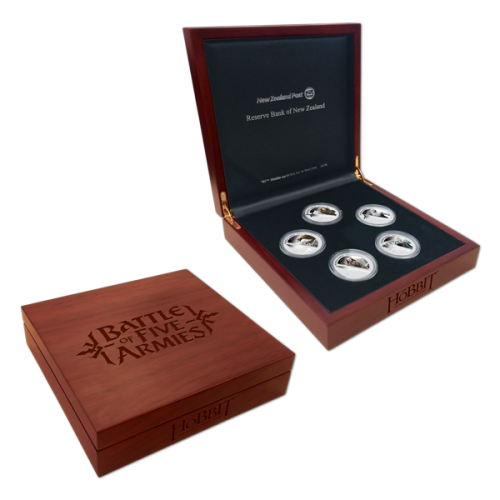 The Battle of the Five Armies 5 Coin Set