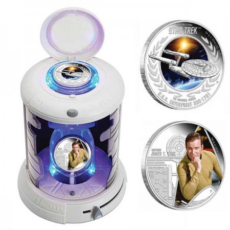 2015 Star Trek Two Coin Set