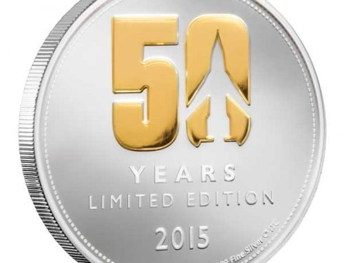 THUNDERBIRDS ARE GO 50TH ANNIVERSARY COINS