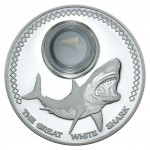 Great White Shark 1oz Silver Proof Coin