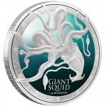 Giant Squid 1oz Silver Coin