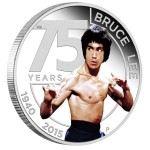 75th Anniversary of Bruce Lee 1oz Silver