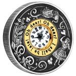 Alice in Wonderland 2oz Clock Coin