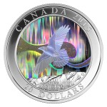 The Northern Lights Hologram Coin