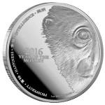 2016 Niue Year of the Monkey 1oz Silver