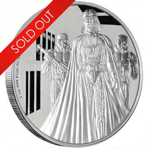 Darth Vader 1oz silver coin