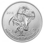 2016 Tyrannosaurus Rex Silver Coin