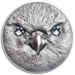 CIT Wildlife Protection 2016 Saker Falcon 1oz Silver Coin