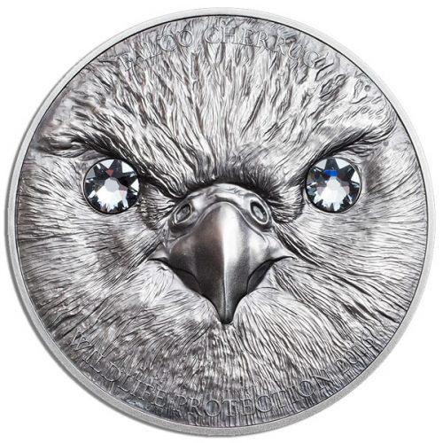 CIT Wildlife Protection 2016 Saker Falcon 1oz Silver Coin