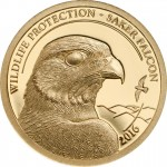 Wildlife Protection 2016 Saker Falcon Gold