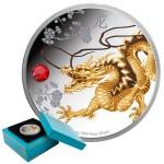 Feng Shui Dragon 1oz Proof Silver Coin
