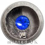 Meteorite Campo del Cielo 3oz silver coin