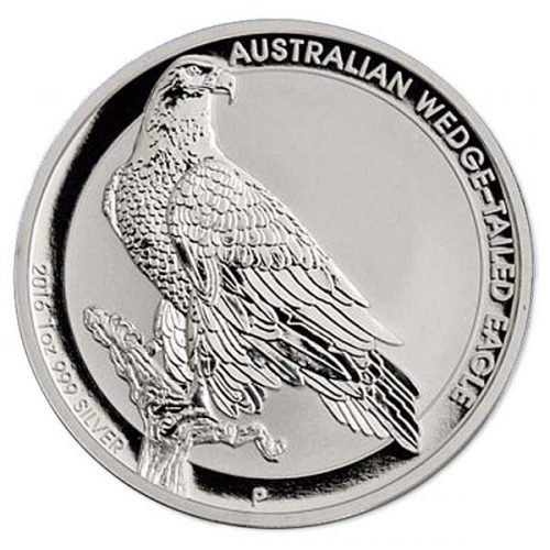Australian Wedge Tailed Eagle 2016 1oz Silver Proof High Relie
