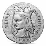 Women of France 2016 Queen Matilda 22.2g Silver