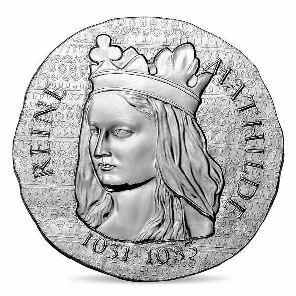 Women of France 2016 Queen Matilda 22.2g Silver