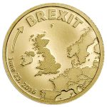 CIT 2016 BREXIT 0.5g 9999 Gold Proof Coin