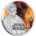 2016 The Force Awakens Poe Dameron 1oz Silver Coin