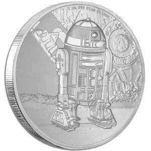 2016 Star Wars Classic R2-D2 1oz Silver