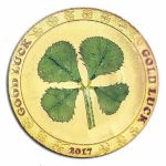 2017 CIT - Four Leaf Clover 1g Gold Proof Coin