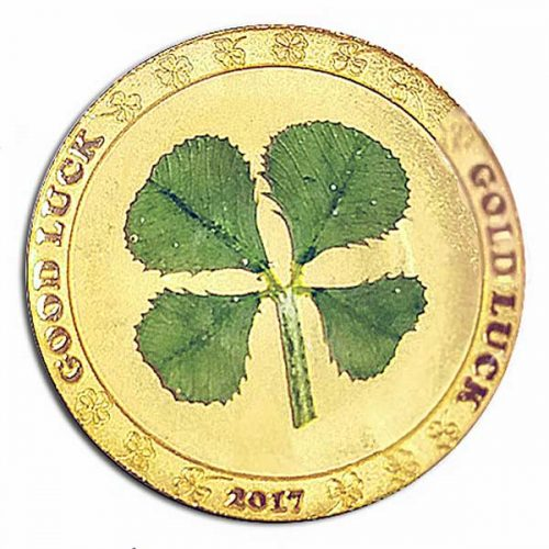 2017 CIT - Four Leaf Clover 1g Gold Proof Coin