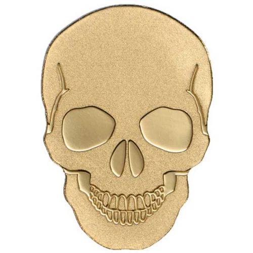 CIT 2016 Skull No 1 - 0.5g Gold Coin