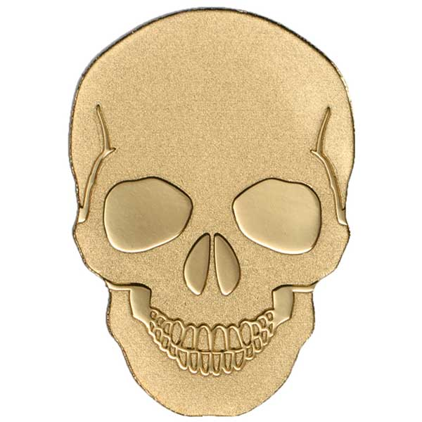 CIT 2016 Skull No 1 - 0.5g Gold Coin