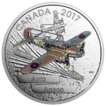 2017 Aircraft of the Second World War Avro Anson 1oz Silver