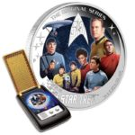 Star Trek The Original Series U.S.S. Enterprise Crew 2oz Proof Silver Coin