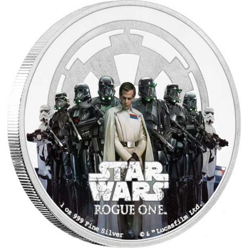 2017 Star Wars Classic Rogue One: The Empire 1oz Silver