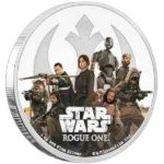 2017 Star Wars Classic Rogue One: The Rebellion 1oz Silver