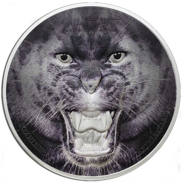 2017 Black Panther 62.2g Proof Silver
