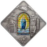 Sacred Art - Holy Windows Pisa Cathedral 50g Silver
