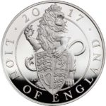 The Queen's Beasts - The Lion of England 2017 UK 5oz Silver Proof Coin