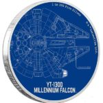 2017 Star Wars Classic: Millennium Falcon 1oz Silver Proof Coin