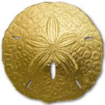 CIT 2017 Sand Dollar 1g Gold Coin