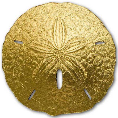 CIT 2017 Sand Dollar 1g Gold Coin