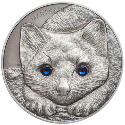 CIT Wildlife Protection 2017 Sable 1oz Silver Coin