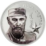 CIT 2017 Fidel Castro 1oz Proof Silver High Relief Coin