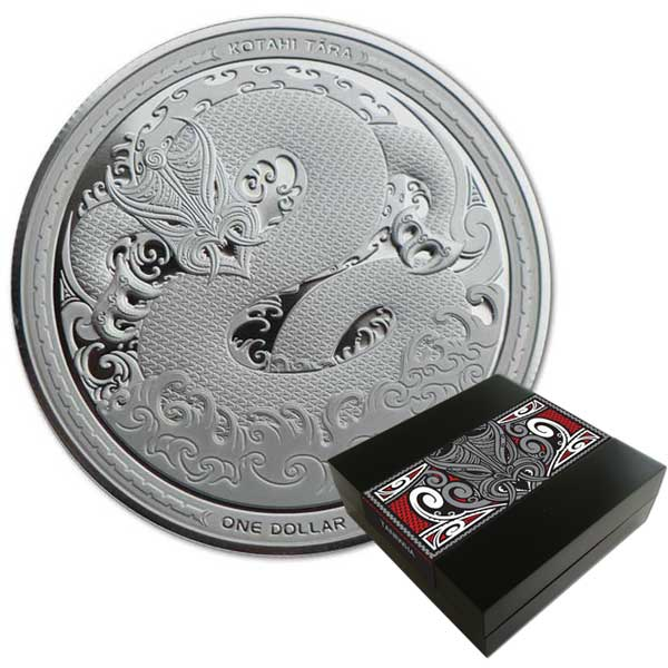 2017 Taniwha 1oz Silver Proof Coin