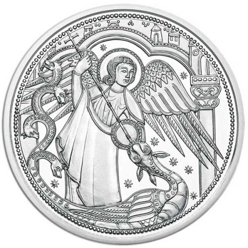 2017 Michael The Protecting Angel 1/2oz Silver