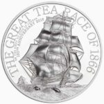 2016 The Great Tea Race 1oz Silver High Relief Coin