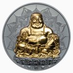 CIT 2017 Laughing Buddha 2oz Gilded Silver