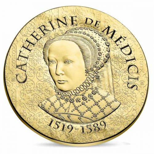 Women of France 2017 Catherine de Medicis 8.45g Gold