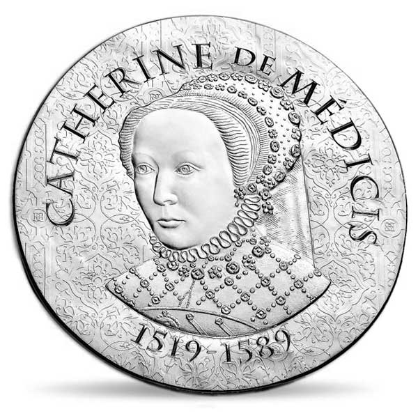 Women of France 2017 Catherine de Medicis 22.2g Silver