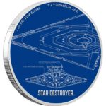 2017 Star Wars: Star Destroyer 1oz Silver Proof Coin