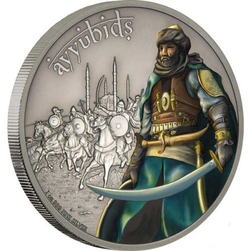 Warriors of History - Ayyubids 1oz Proof Silver