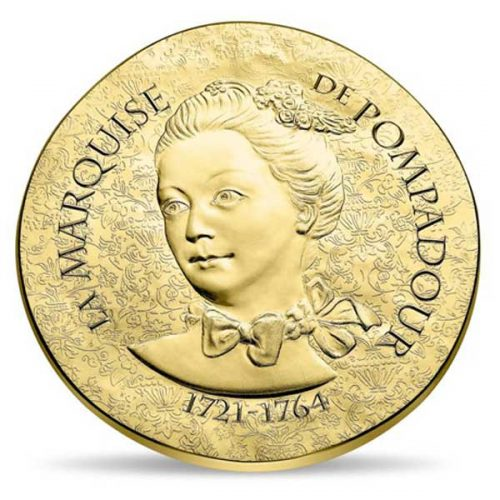Women of France 2017 Marquise de Pompadour 7.78g Gold