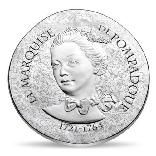 Women of France 2017 Marquise de Pompadour 22.2g Silver