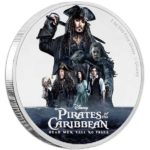 Pirates of the Caribbean: Dead Men Tell No Tales 1oz Silver